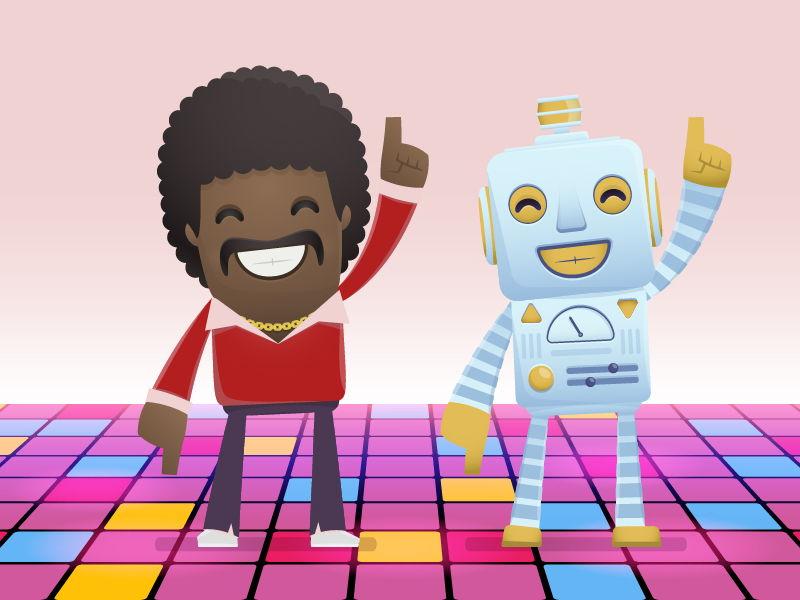 Robot Dance (computing activity)