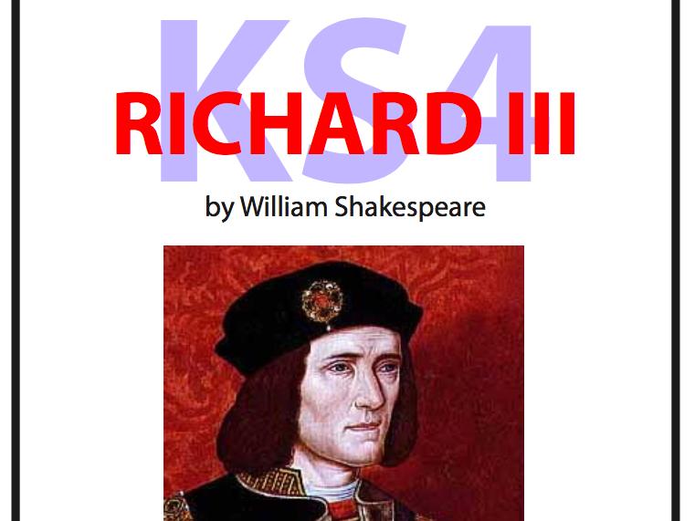 KS4 Richard III Scheme of Work