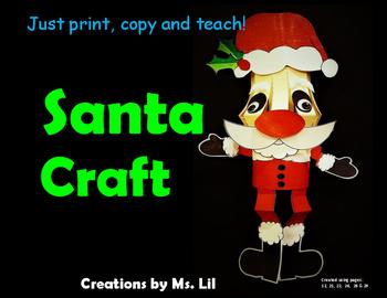 Santa Craft  ::  St. Nicholas Craft  ::  Christmas Craft