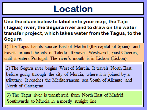 Tagus-Segura Large Scale Water Transfer Scheme