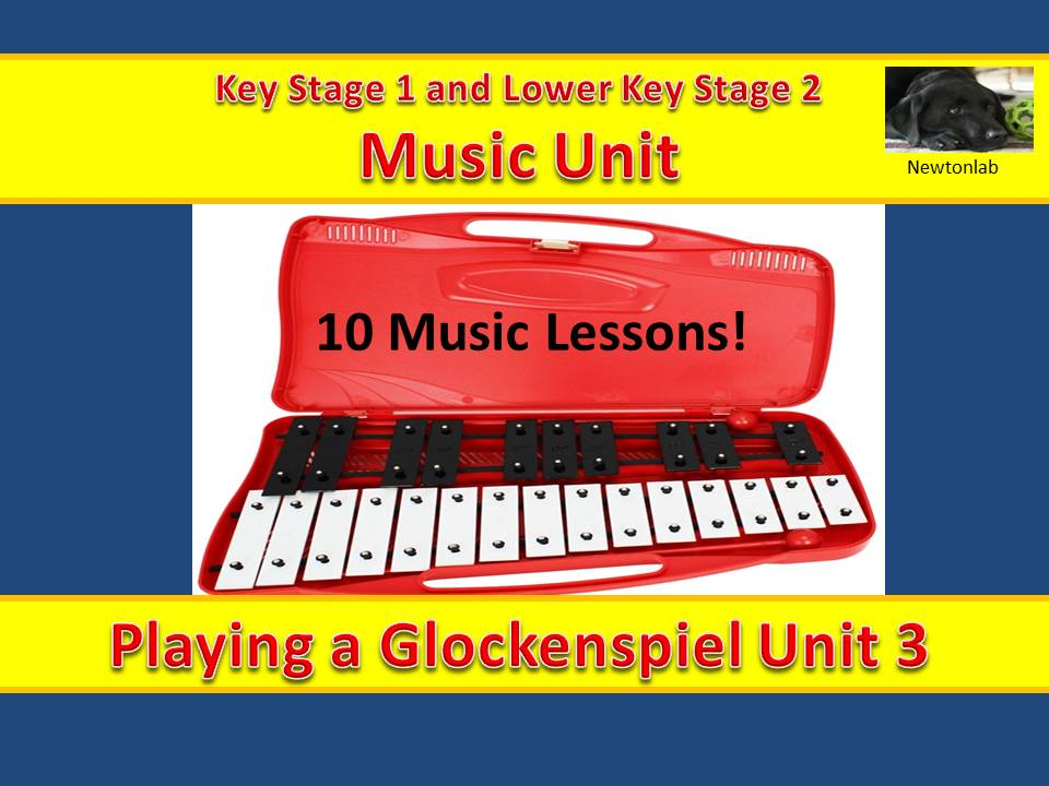 Playing a Glockenspiel Unit 3 - 10 Music Lessons - Key Stage 1 and Lower Key Stage 2