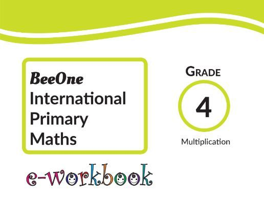Grade 4 Multiplication ,55 worksheets from BeeOne Books by Grade1to6 ...