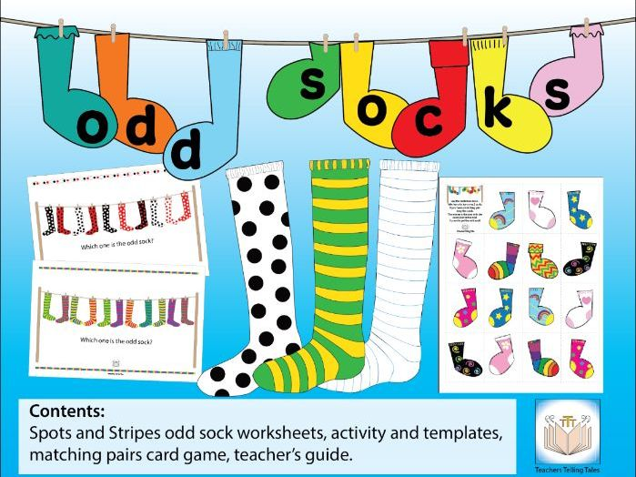 Odd Socks Activity Pack
