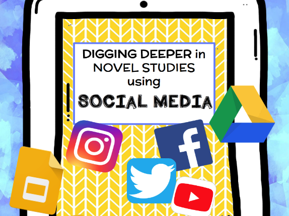 Digging Deeper in Novel Studies with Social Media