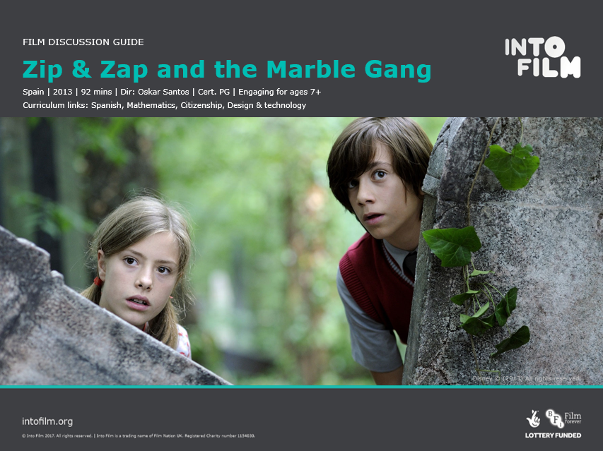 Zip & Zap and the Marble Gang: Film Guide