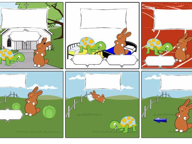 Spanish Tortoise and the Hare Authentic Text Lesson Materials