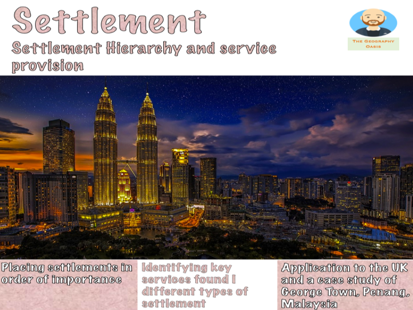 Settlement Hierarchies and Services