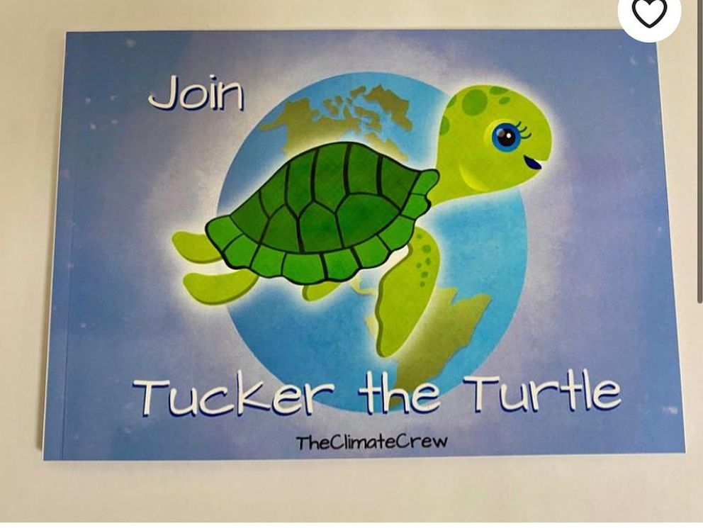 Climate Change Book - Join Tucker the Turtle