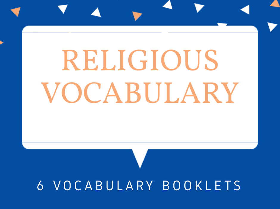 World Religion Vocabulary Booklets