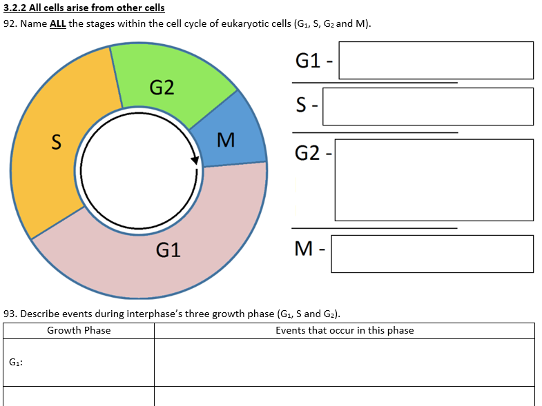AQA  A-level Biology Revision Questions for Year 1 and 2 (533 questions)