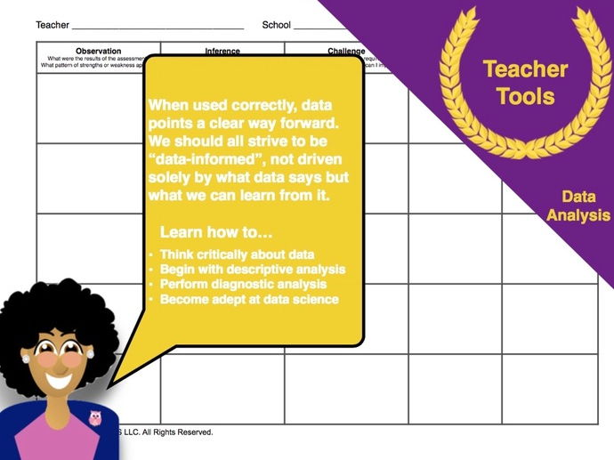 data analysis template for teachers - early years pedagogy and professional development teaching