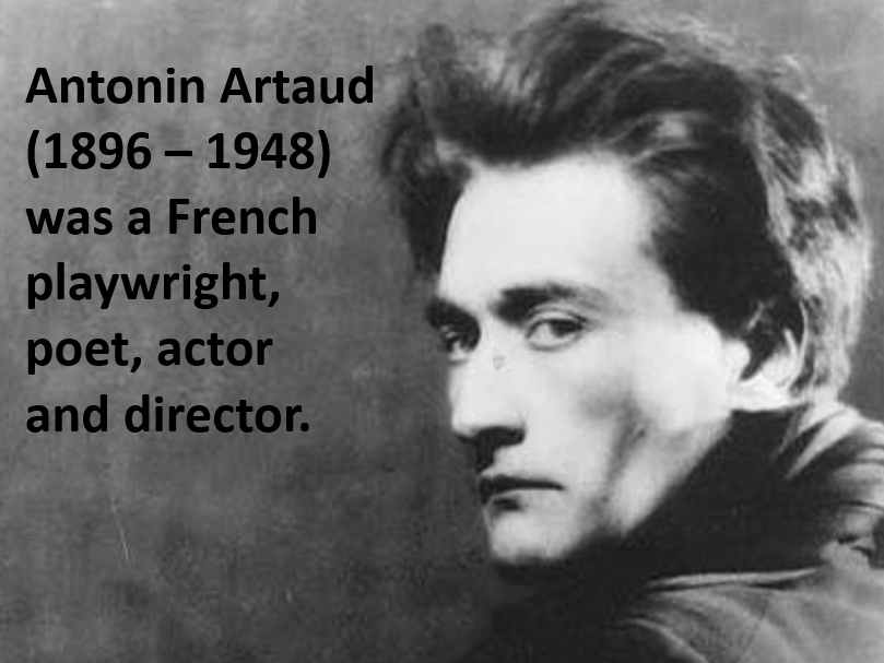 Artaud Lesson Powerpoint