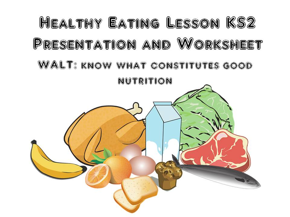 Healthy Eating Week 2019  Complete Lesson