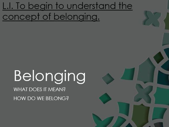 Belonging - Islam (Year 5)
