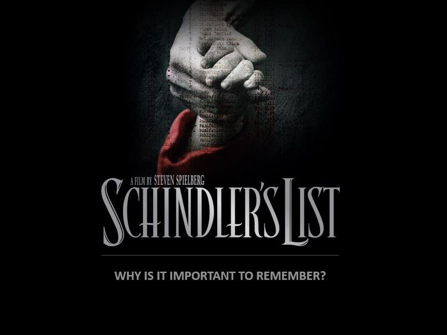 Year 11 Genocide Schindlers List Lesson