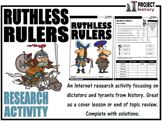 Ruthless Rulers Internet Research Activity