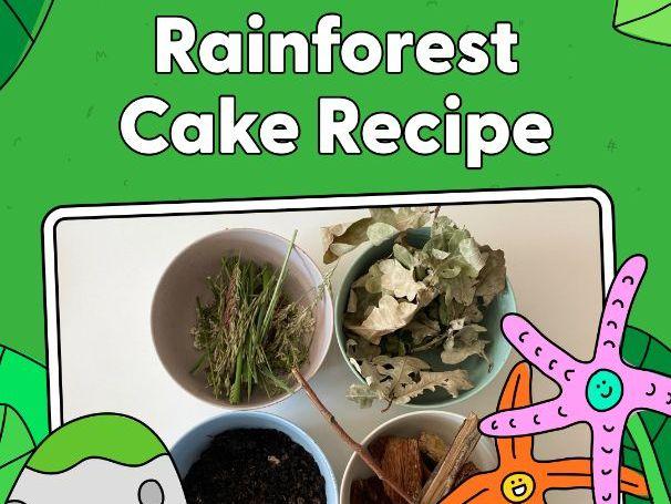 Activity - Rainforest Cake Recipe