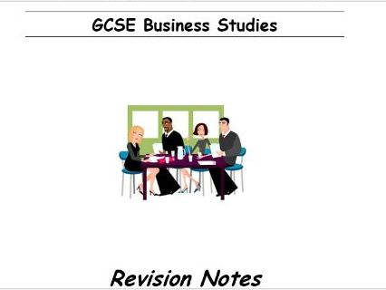 GCSE Business Studies Revision Notes