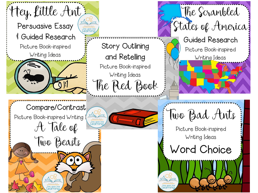 Upper Elementary Picture Book Writing Mini-Lessons BUNDLE