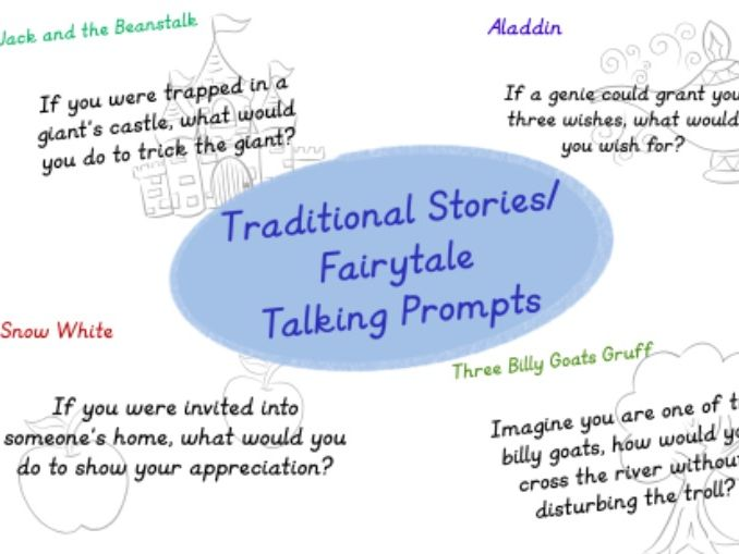 Traditional Tales Story Prompts