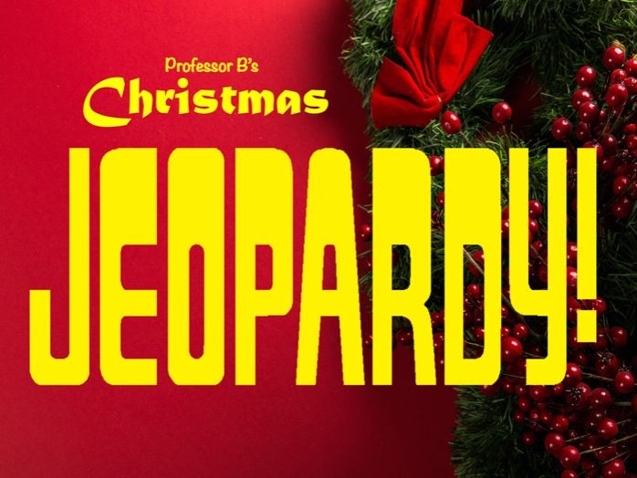 Christmas Jeopardy Game