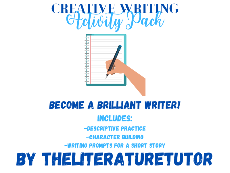 (Remote Learning) Creative Writing Activity Pack