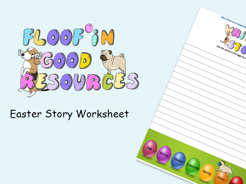 Easter Story - At Home Activity Sheet