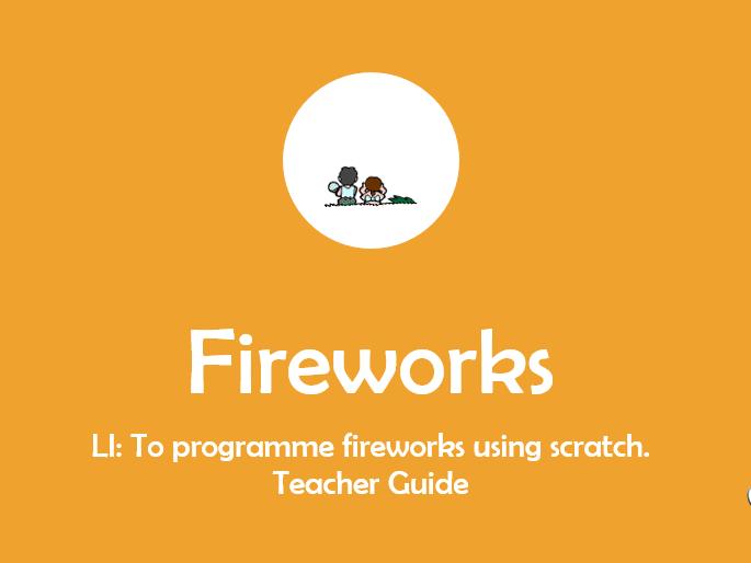 Scratch programming - fireworks