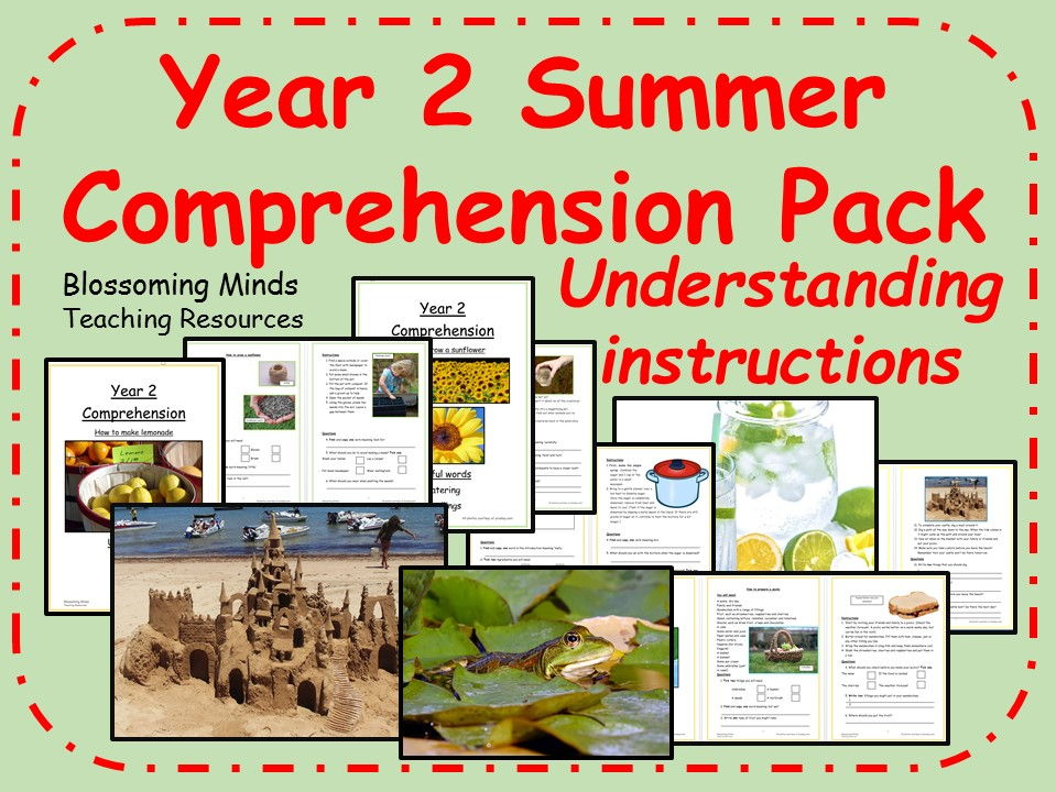 Year 2 non-fiction summer comprehension