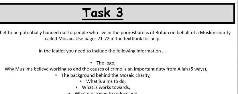 Crime Edexcel GCSE Religious Studies B - Area of Study 2 - Islam