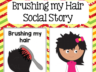 Brushing Hair Social Story
