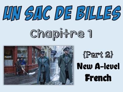 Un sac de billes - Etude du chapitre 1