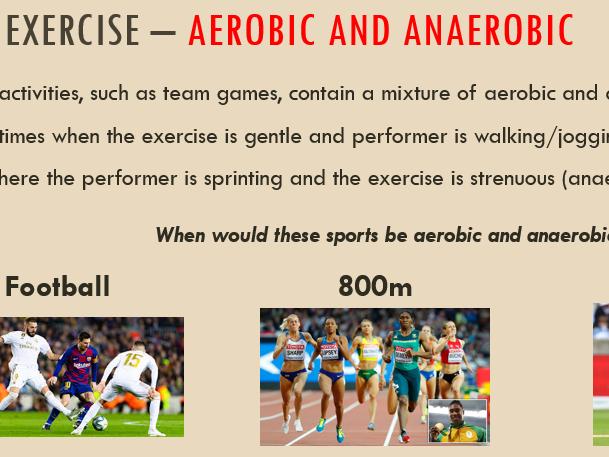 3.1.1.3 - Anaerobic and Aerobic Exercise (AQA)