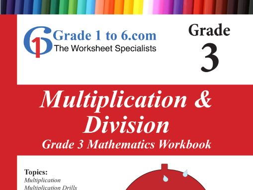 Multiplication & Division: Grade 3 Maths Workbook from www.Grade1to6.com Books