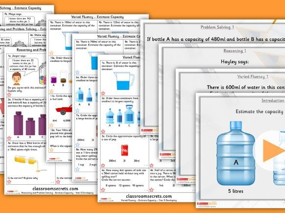 Year 4/5 Mixed Age Spring Block 2 Step 8 Maths Lesson Pack