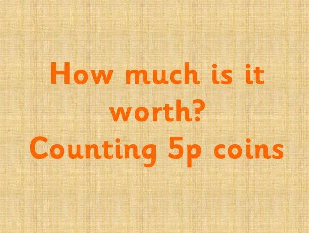 Money - How many 5ps?