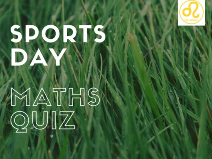 Sports Day Maths Quiz