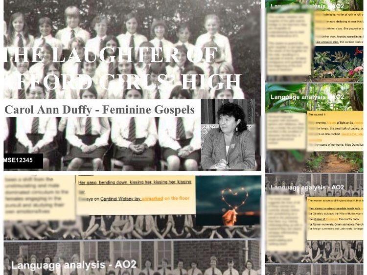 The Laughter of Stafford Girls' High Feminine Gospels