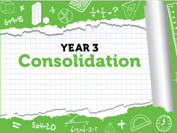 Year 3 Maths: Week 12 - Summer Term Consolidation Pack - White Rose Maths' Resources
