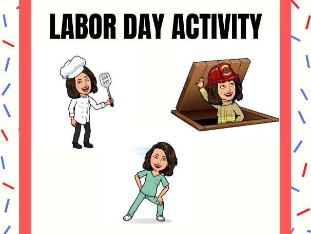 Labor Day Activity / Día del trabajo