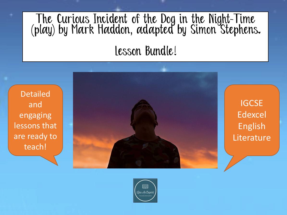 IGCSE Curious Incident (play) - lesson bundle!