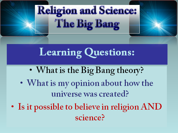 Science and Religion: The Big Bang