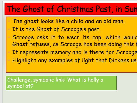 Ks4 Aqa Gcse Stave 2 A Christmas Carol Revision Activities By