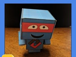 3D Figure Activity (Editable in Google Slides)