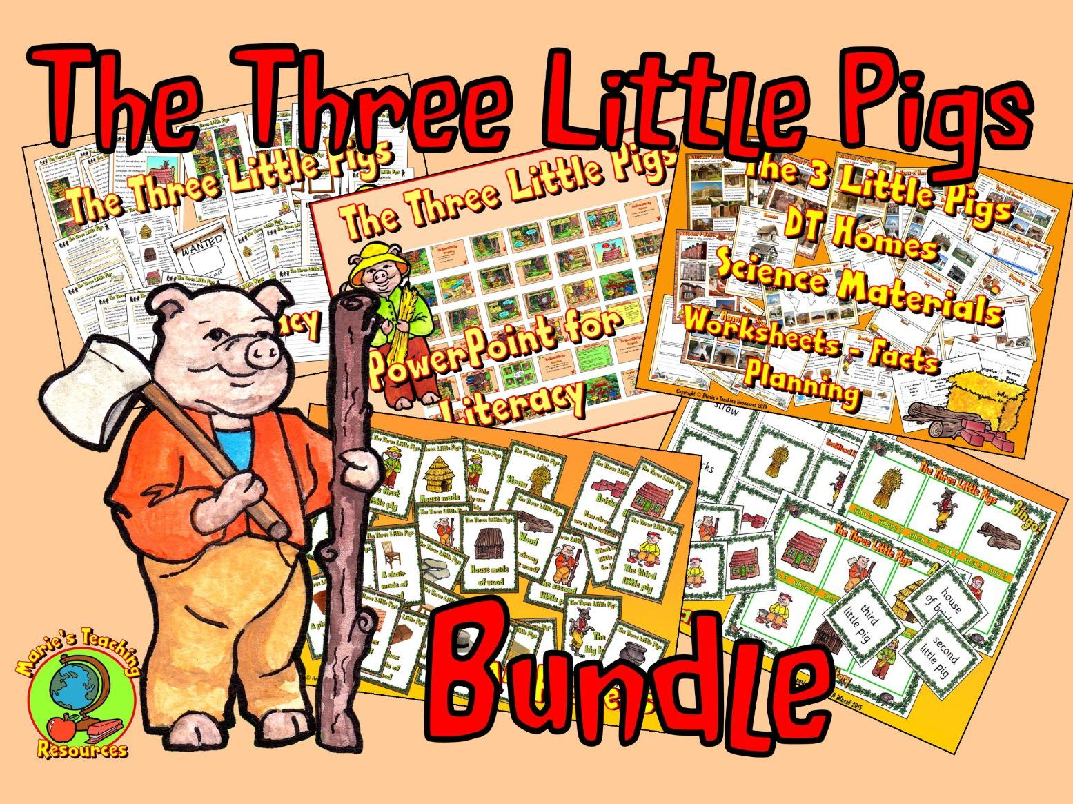 The Three Little Pigs Bundle