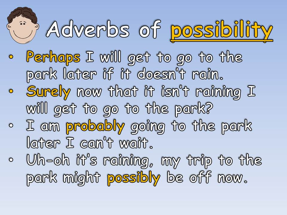 Year 5 Indicating Degrees of Possibility Using Adverbs. Complete SPaG VCOP Lesson