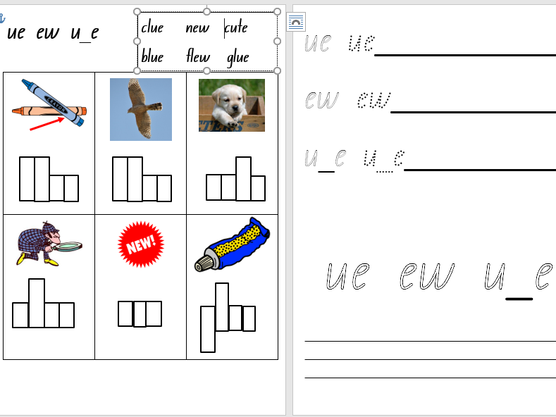 Kindergarten/Year 1 Phonics Worksheets-Set 4a