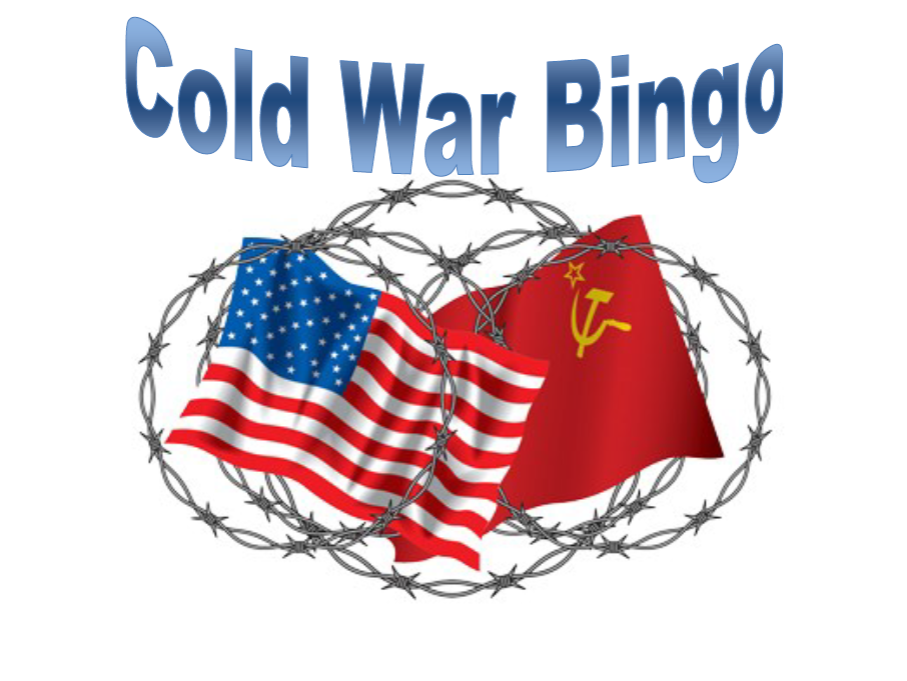 The Cold War- Bingo