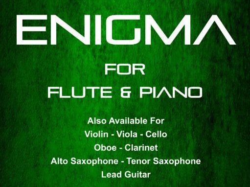Enigma - Flute & Piano (Score & Parts)