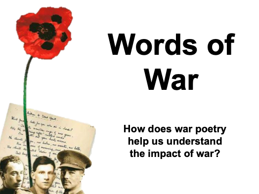 War Poetry - KS3